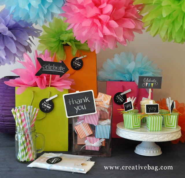 Creative Bag packaging supplies for party favors