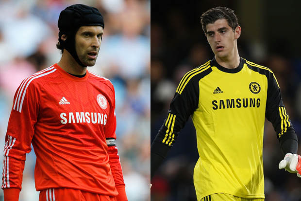 Branislav Ivanovic reveals Petr Cech is better than Thibaut Courtois