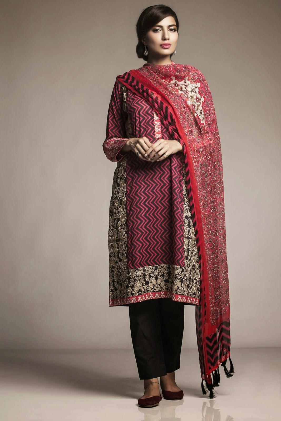 Khaadi winter sale for ladies dresses 2015 - AK Hubb