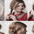 How To Do Quick Braided Chignon Hairstyle With Easy Steps
