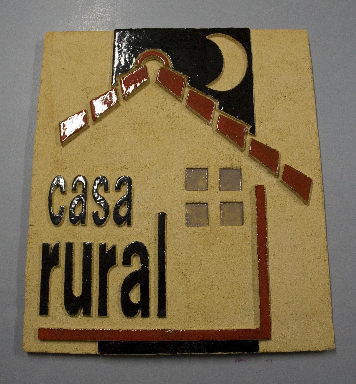 The craftsman placa de ceramica casa rural - Requisitos para montar una casa rural ...