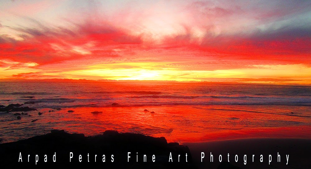 Dana Point Sunset by Arpad Petrass