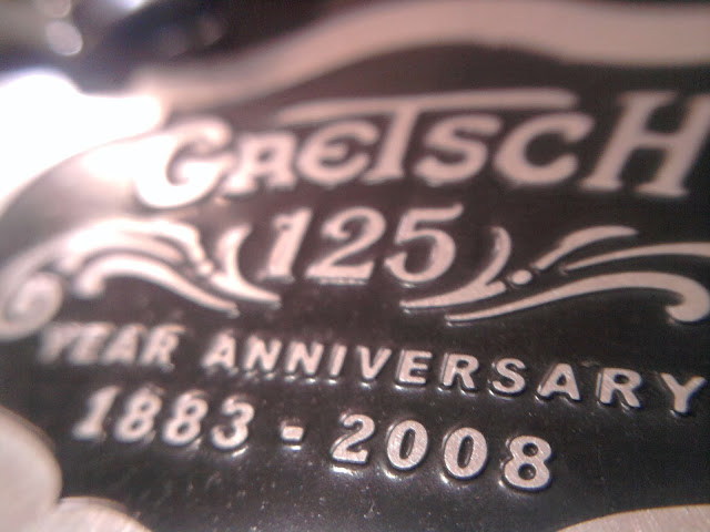Gretsch 125th anniversary guitar logo