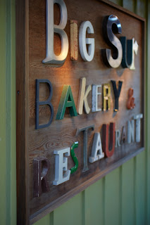Big Sur Bakery sign