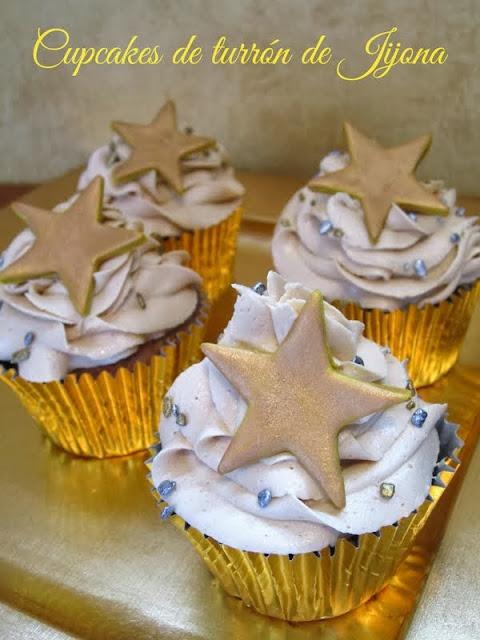 cupcakes turron jijona