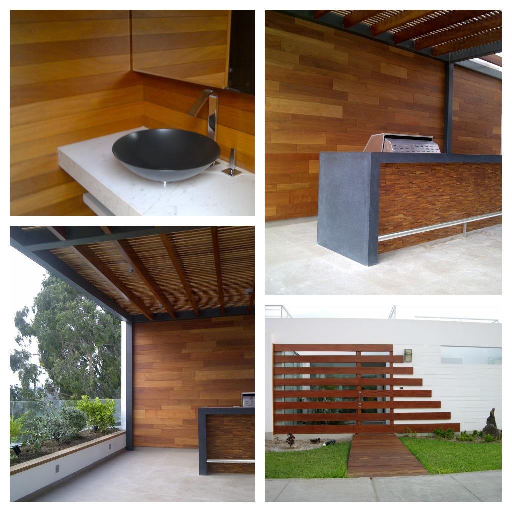 Dubrasen dise o interior revestimiento de paredes for Revestimiento de paredes interiores en madera