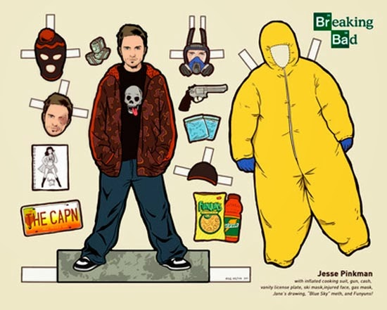 recortables breaking bad