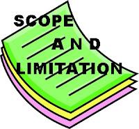 Dissertation study limitations