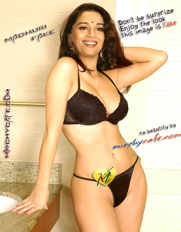 Madhuri Dixit Bollywood Actresses Fake Sex