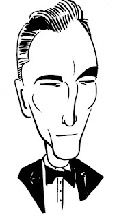 Daniel Day Lewis caricature