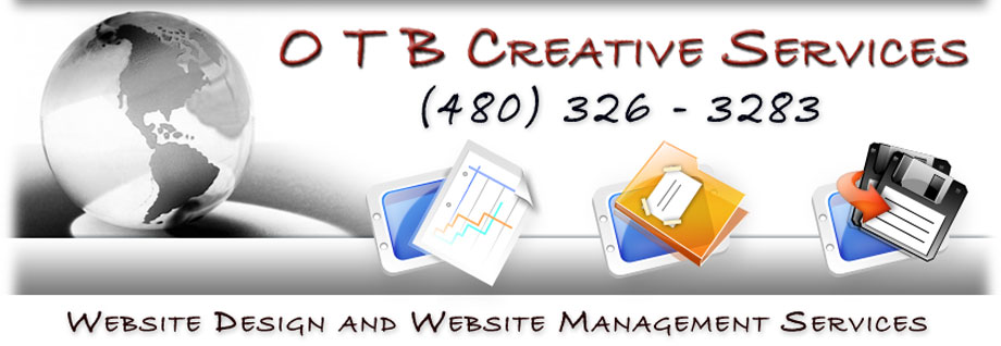 OTB CREATIVE SERVICES - WEBSITE DESIGNER CHANDLER ARIZONA (480) 326-3283