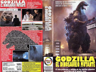Godzilla El Dinosaurio Mutante (Godzilla VS Mothra)