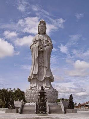 Ternyata Patung Dewi Kwan Im Terbesar di Asia Tenggara Ada Di Pematangsiantar