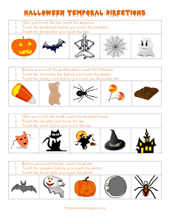 download the halloween temporal directions here - Halloween Following Directions