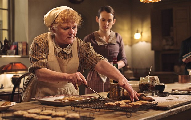 Patmore kitchen Daisy Downton Abbey Dinner