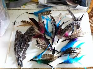 """Refill til """"Da bird"""" """"Fishing Fly"""" osv"""