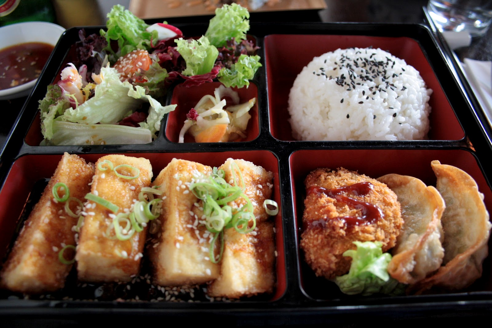 Bento Box Cafe Fishers Menu