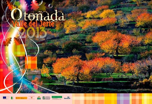 Cartel oficial Otoñada 2013 en el Valle del Jerte