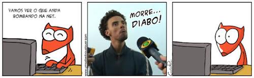 Tirinhas da Luna #49: 'Morre Diabo!' | Ordem da Fênix Brasileira