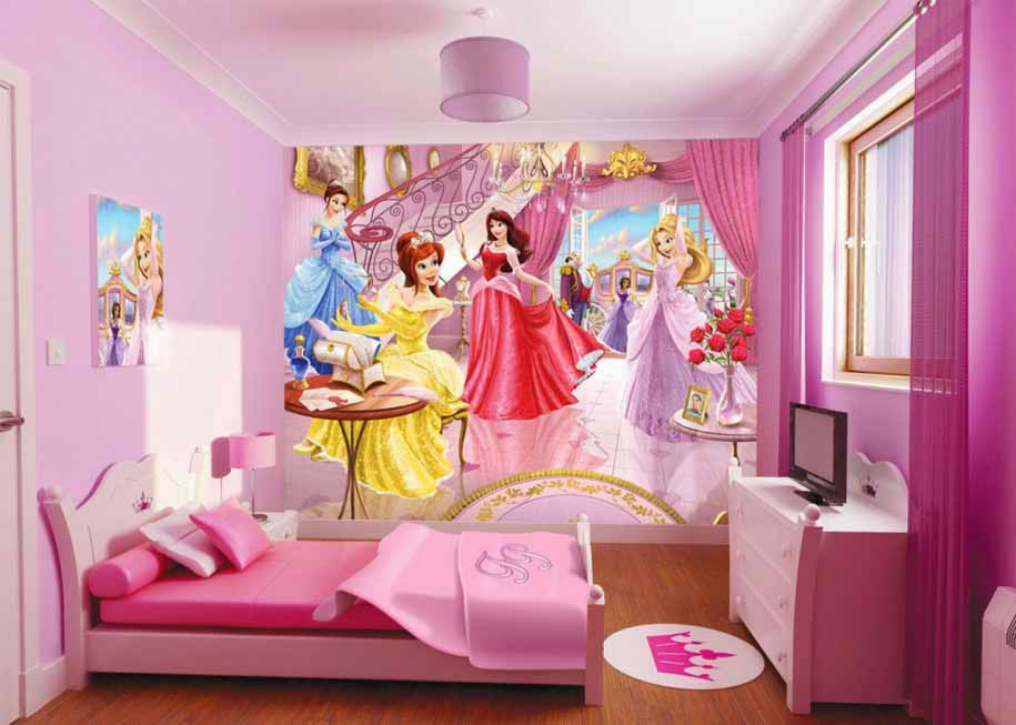 foto kamar tidur anak perempuan
