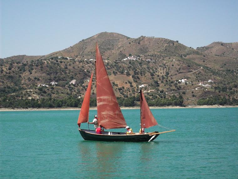Navegación en el Drascombe