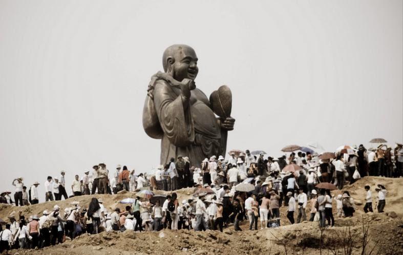 tượng di lặc Chùa Bái Đính - Ninh Bình