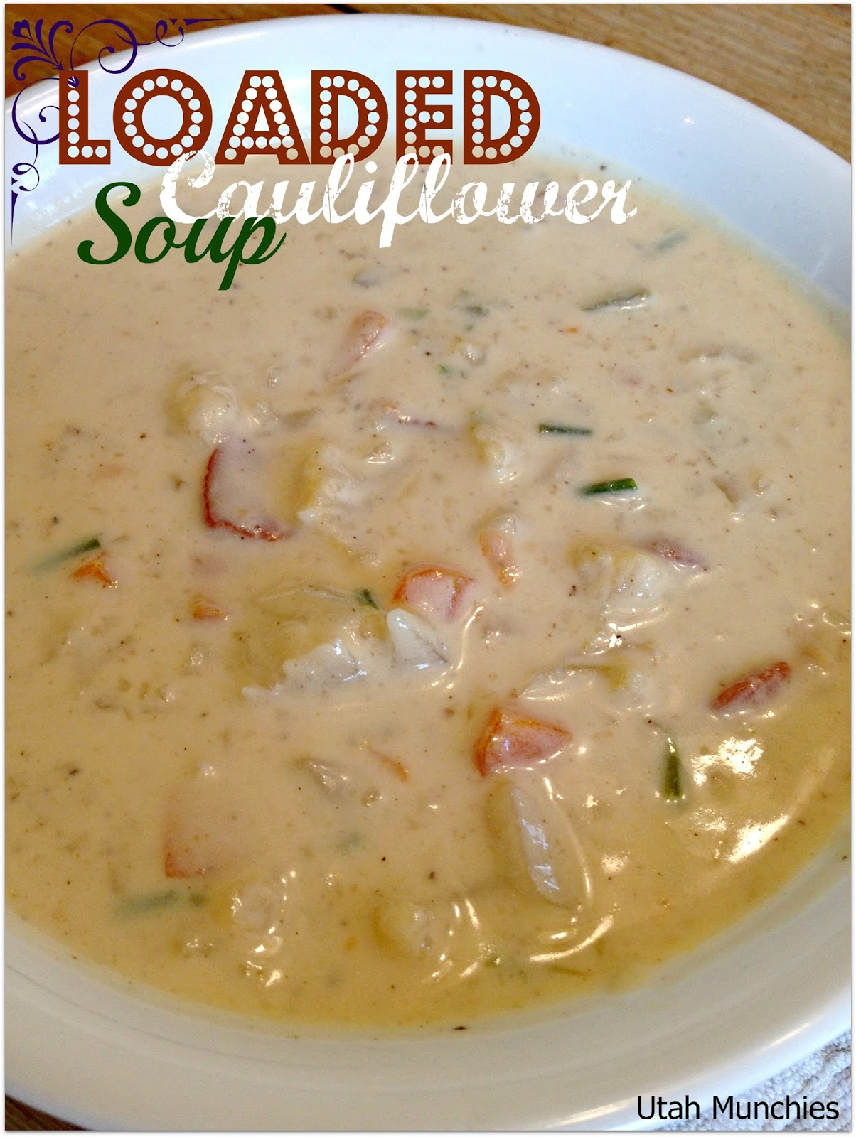 soup dad s creamy cauliflower soup we had homemade soup every creamy ...