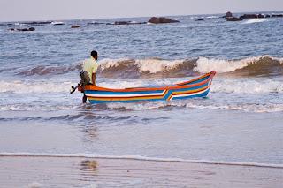 Fishing at Karkarli beach