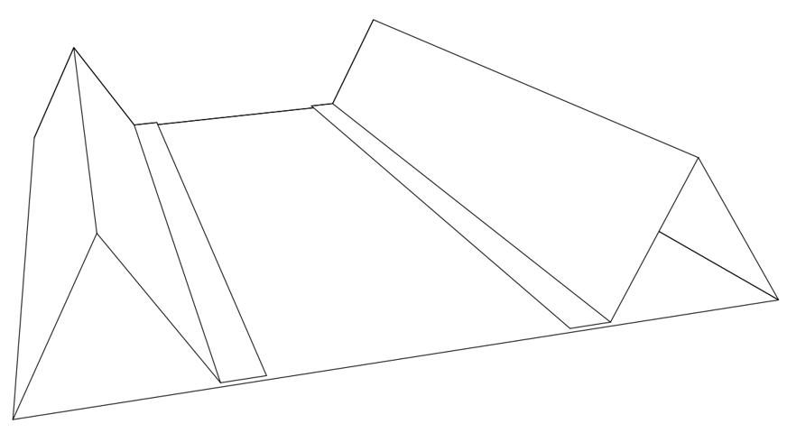 лист ватмана с ребрами жесткости