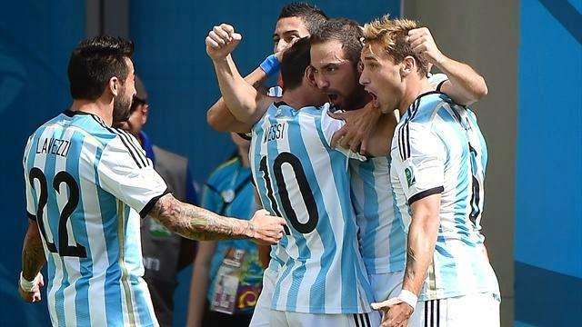 الارجنتين تفوز على بلجيكا بصعوبة وتتأهل لنصف نهائي كاس العالم