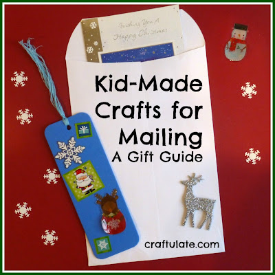 http://craftulate.com/2013/11/kid-made-crafts-for-mailing-a-gift-guide/