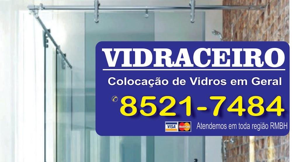 VIDRACEIRO EM BELO HORIZONTE- DIVINAL- VIDROSER-VIPASA-VIDRÁLIA-BH VIDROS BLINDEX