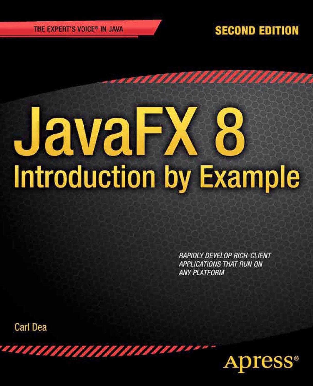 JFX 8 Book