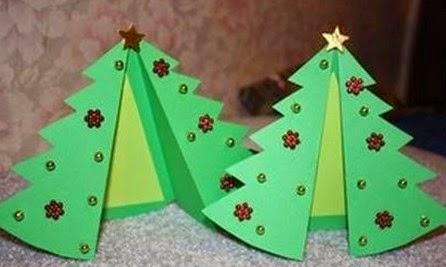 Tarjetas de navidad hechas por ni os especial de navidad - Postales navidad hechas por ninos ...