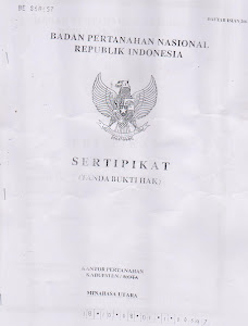 FOTO COPY SERTIFIKAT
