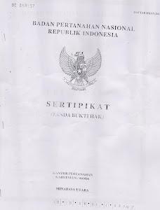 FOTO COPY SERTIFIKAT