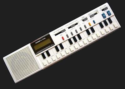 El Casio VL-Tone VL-1, el primero de una serie de juguetes musicales electrónicos desarrollados por la multinacional japonesa en los años 80