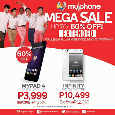 MyPhone Mega Nationwide Sale