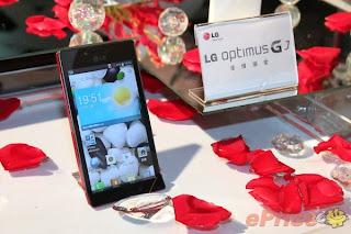 LG Optimus GJ Smartphone Anti Air dan Debu dari LG