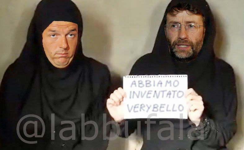 Renzi, franceschini, verybello, expo