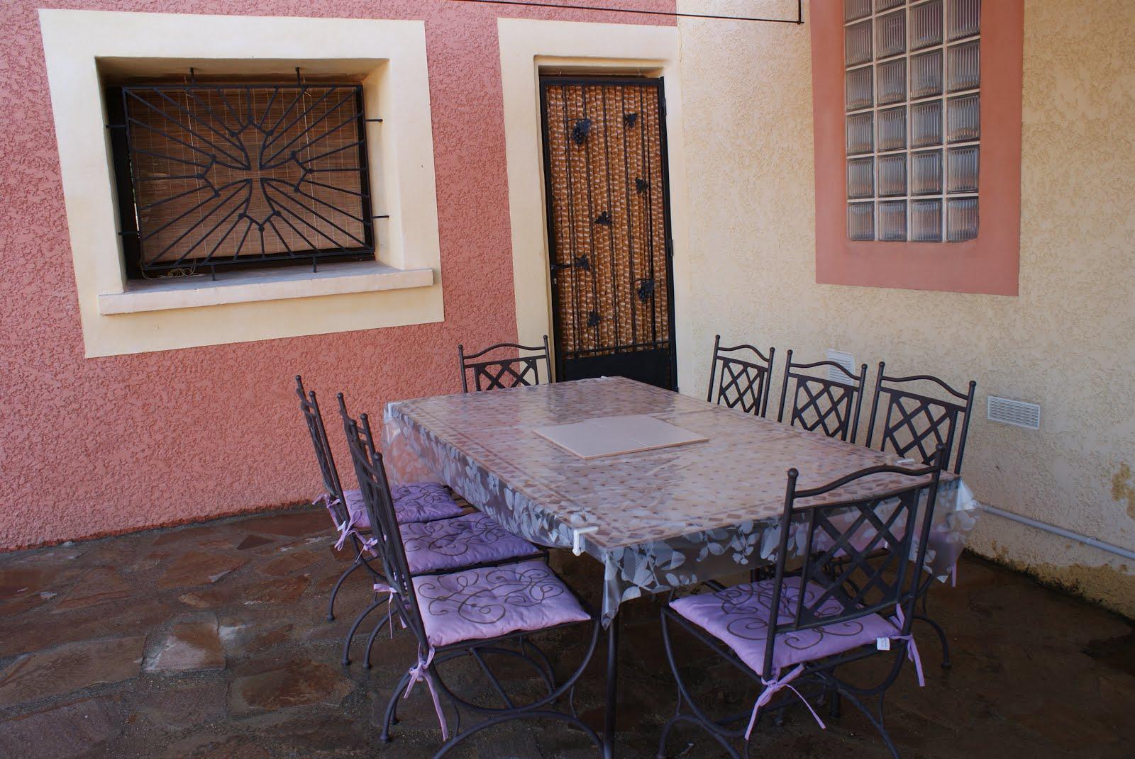 Villa olivier - Repas extérieur