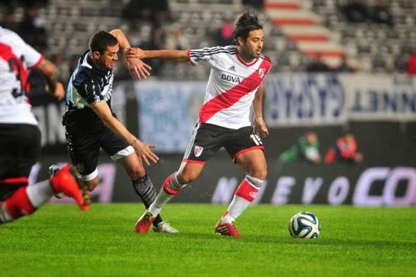 Pisculichi, River, River Plate, debut, Gimnasia de la Plata, empate, Gallardo, Marcelo Gallardo,