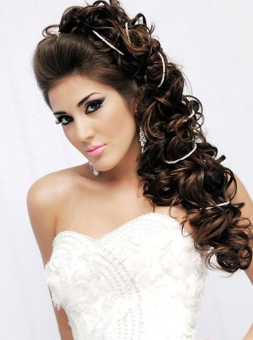 wedding long hairstyles Wedding Updo