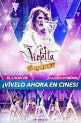 Participación en película VIOLETTA EN CONCIERTO! Estreno abril 2014