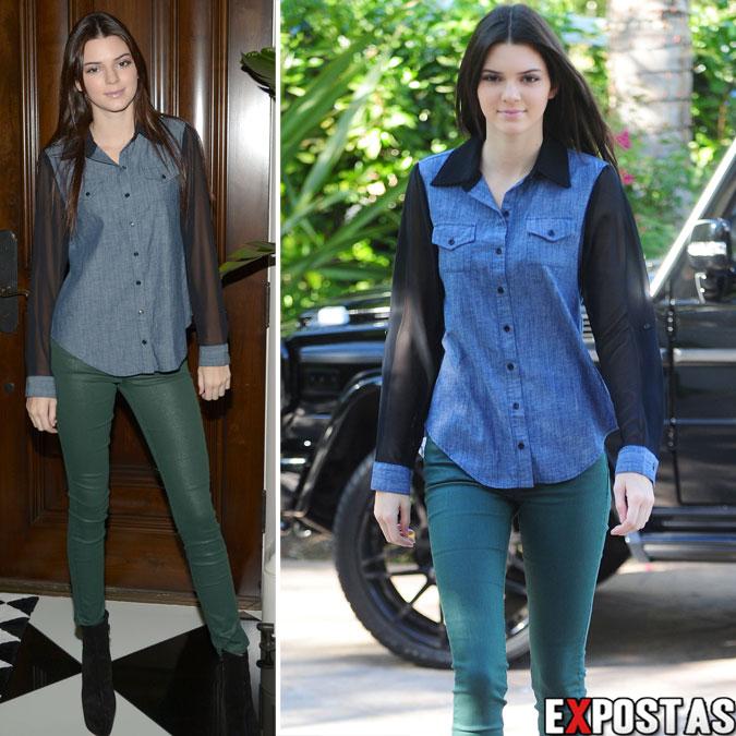 Kendall Jenner chegando em sua casa na Califórnia para gravar Reality Show - 24 de Outubro de 2012