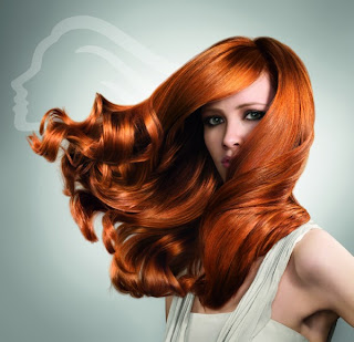 red, hair