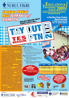 Contoh Brosur TRY OUT Masuk PTN