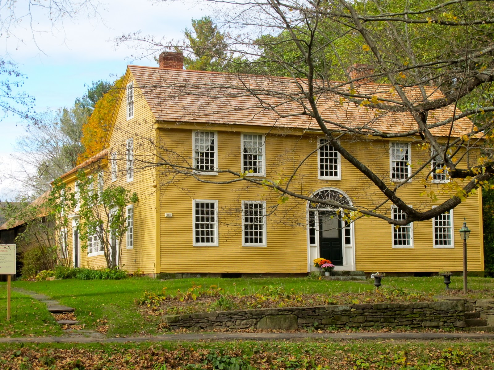 Jenny steffens hobick trip to deerfield mass new for New england colonial homes