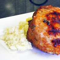 Paula Deen's Stuffed Pork Chops with Grits 9.29.11