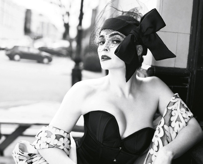 Helena Bonham Carter para Vogue UK